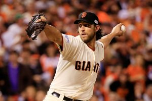 Madison Bumgarner has dominated the World Series so far.  Will he get the chance to pitch tonight?