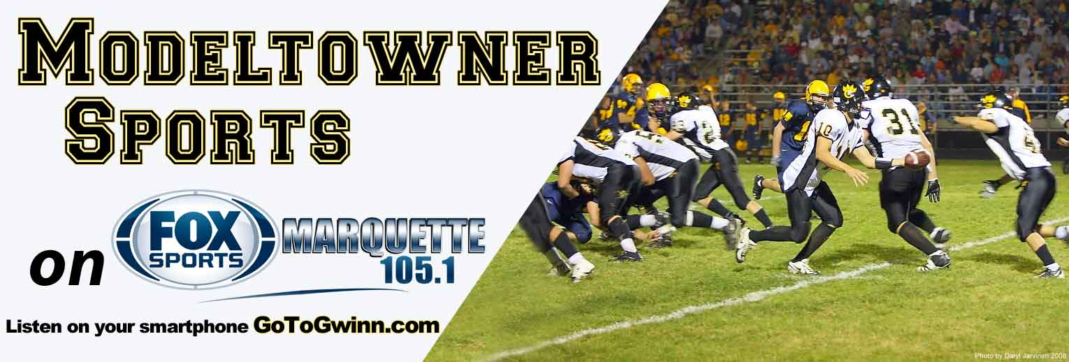 Modeltowners Sports on 13WFXD. Listen Live to the Gwinn Area Community Schools Varsity Sports Games