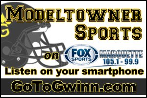 Gwinn ModelTowner Boys basketball was defeated by the Houghton Gremlins on Fox Sports Marquette 105.1 and 99.9 01/13/16