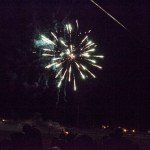 FIreworks with the Gwinn Community during Meet the Modeltowners 2015