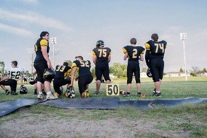Varsity Football Plays from Gwinn Meet the Modeltowners 2015