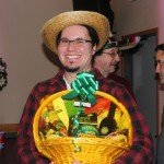 Here's Nollan Pettersen and his finalist prize; a $100 Gift basket from Super One Foods!