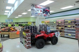 Take a look at the ATV for yourself at Super One Foods in Marquette!