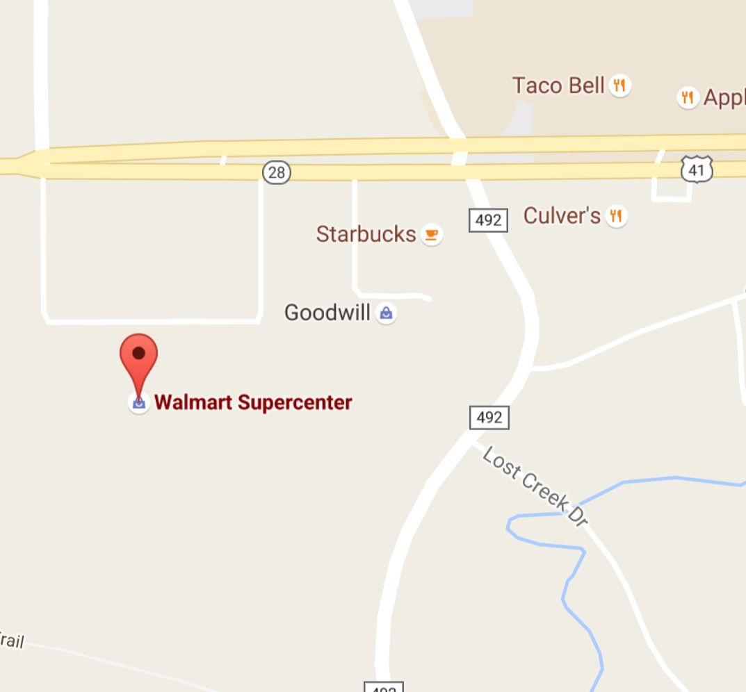 Find Walmart of Marquette with Google Maps