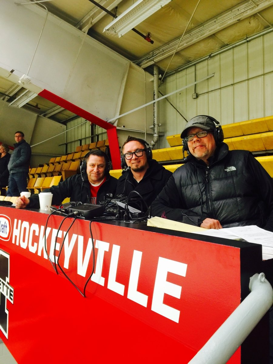 Marquette Redmen Hockey is on the air!