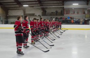The Marquette Redmen Hockey Team 2016
