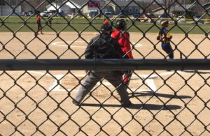Behind the plate with the Marquette Redettes softball team