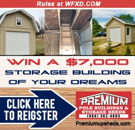 Win the Storage Building of Your Dreams