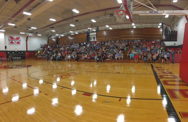 high school gym. The Gym During Meet Redmen And Redettes Night 2017 High School