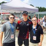 Luke, Dylan Larkin, and Ryan.