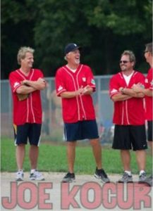 Joe Kocur at a previous softball tournament
