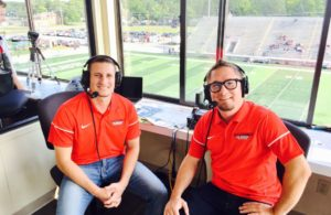Luke and Ryan get set to call the game!