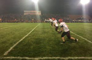 Marquette kicks off.