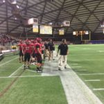 A look at the team on the sideline.