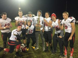 Redmen winners of the Diamond Jubliee Trophy!