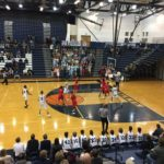 The Petoskey Northmen defeated the Marquette Redmen 55-38