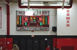 The Redettes beat the Gladstone Braves 56-36