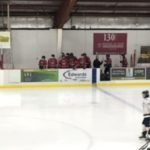 The Marquette Redmen bench