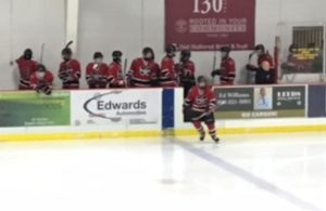 The Redmen get a line change