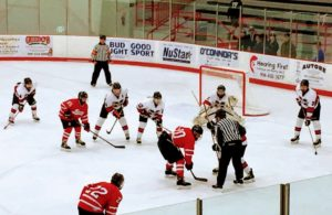 Redmen face-off with the Bulldogs