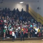 Negaunee's student section is ready for Christmas