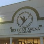 The Redmen took on the Utica-Eisenhower Eagles at the Big Bear Arena.