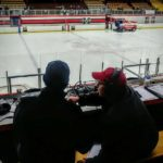 John Thomsen and Joe Gaffney getting ready to bring you the call on 103 FXD.