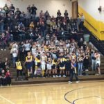 Negaunee's student section is packed