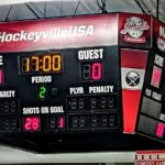 After one period, the score was 4-0 Marquette