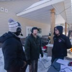 Ryan and Luke interviewing Randy from the Marquette Township