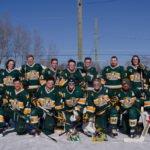 The NMU Hockey Club Team.