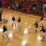 The Redettes gearing up for the game