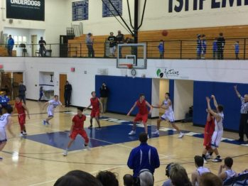 The Marquette Redmen defeat the Ishpeming Hematites Basketball Team 55-41 improving their record to 10-5 on the season!