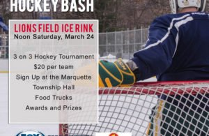 Come out and show your support for Lions Field Ice Rink!