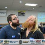 Eric Scott and Luke Noordyk Battle of the Beards