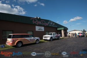 We were out at River Rock Lanes in Ishpeming for the giveaway.