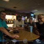 Mark, Adam, Luke G, and Walt in the bar room.