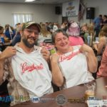 Two Imperial Beverage Leinenkugel's tank tops to the same couple!
