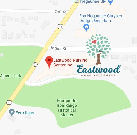 Eastwood Nursing Center in Negaunee on Google Maps