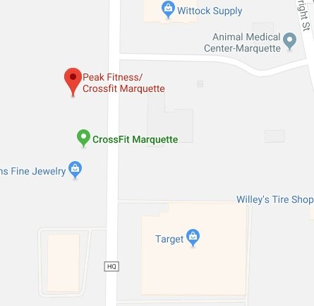Find Peak Fitness on Google Maps