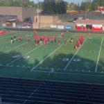 The Redmen kick off their third game of the season.