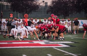 The Marquette Redmen face off against the Escanaba Eskymos.