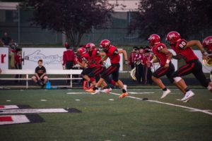The Marquette Redmen Defeated the Escanaba Eskymos in Overtime, 36-35