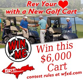 Register to Win a New Golf Cart from Meyer Yamaha and Great Lakes Radio