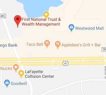 Find First National Bank on Google Maps