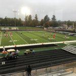 The Marquette Redmen prepare to take on Lakeland Union.