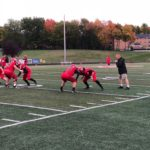 Marquette runs some drills ahead of taking on the Gladstone Braves.