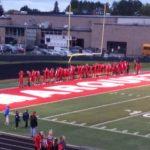 Senior night at Hart Stadium honors senior athletes.