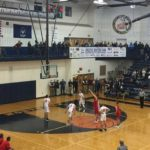 The Marquette Redmen were on the road against the Bulldogs in Petoskey.