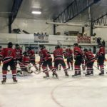 The Marquette Redmen Hockey team was on the road against the Escanaba Eskymos.